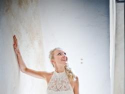 Koronkowa suknia prosto z Francji :)