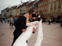 Koronkowa suknia rybka Pronovias sprzedam BOLERKO GRATIS!
