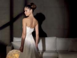 Koronkowa suknia ślubna