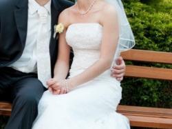 Koronkowa suknia ślubna 38 okazja!!!!!