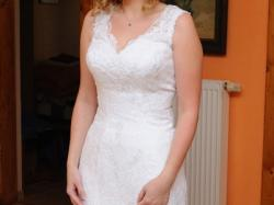 Koronkowa suknia ślubna Etienette kolekcja 2012, jak nowa!