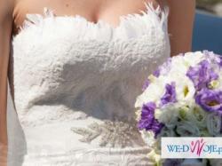 Koronkowa suknia ślubna Pronovias Balcan