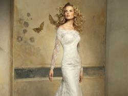 Koronkowa suknia ślubna Pronovias Onice