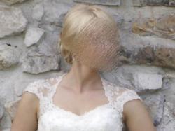 Koronkowa suknia ślubna renomowanej firmy NABLA
