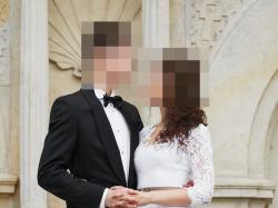 Koronkowa suknia ślubna w rozm. 34, stan idealny