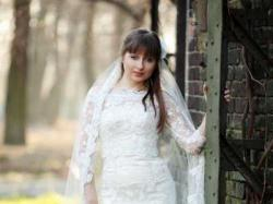 Koronkowa suknia ślubna w stylu hiszpańskim