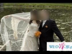 Koronkowa Suknia Ślubna włoskiej firmy Lilea
