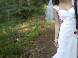 Koronkowa suknia ślubna! Wyjątkowa :)