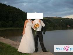Koszula meska ślubna ECRU + spinki