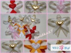 Kotyliony, przypinki dla gości - ślub, wesele :)
