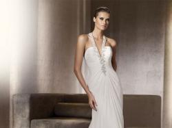 KRAKÓW Suknia Ślubna PRONOVIAS PELICANO z salonu MADONNA 36/38