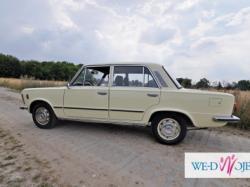 Kremowa legenda - Fiat 125p  - Fajnyslub.pl