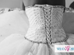 Królewska suknia Lisa Ferrera Demetrios 2828