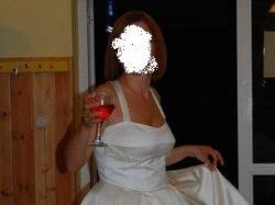 Krótka sukienka ślubna