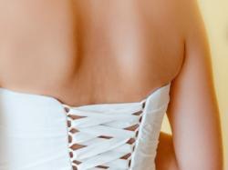 Krótka suknia ślubna