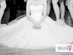 krótka suknia ślubna GALA SUZANNE