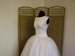 krotka suknia slubna NOWA!! lata 50te najnowsze trendy