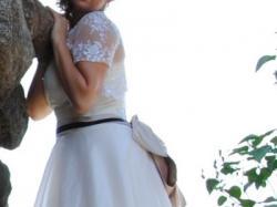 krótka suknia ślubna od MarylaW! Retro
