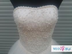 krótka suknia ślubna, ślub cywilny, druhna