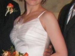 Krótka, wyjątkowa, niezapomniana suknia ślubna