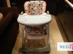 Krzesełko do karmienia, Britton Hip+,Orange