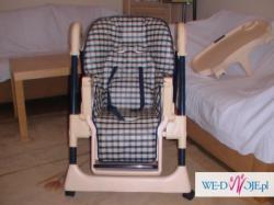 Krzesełko do karmienia firmy Chicco