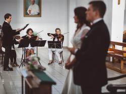 Kwartet smyczkowy 4 One z Trójmiasta/śluby/bankiety/koncerty