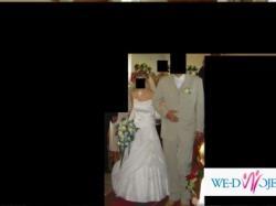 ładna suknia ślubna