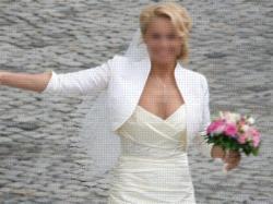 Lekka i subtelna suknia francuskiej firmy CYMBELINE