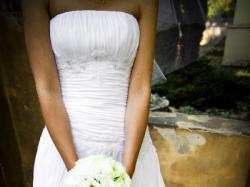 Lekka suknia z muślinu