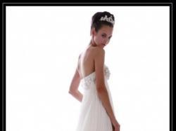 Leona Lee piękna suknia w stylu empire 34/36