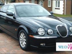 limuzyna ślubna Łódź , czarny Jaguar S