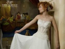 LKWIDACJA SALONU !!!! NOWA SUKNIA ŚLUBNA EMMI MARIAGE MELODY ROZMIAR: 40