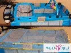 łóżeczko turystyczne=220 zł wózek  malarstwo naścienne
