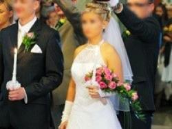 Lśniąca suknia Fiena