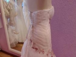 Luksusowa suknia ślubna 38/biała Ms Moda