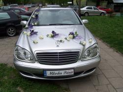 """""""Luksusowy przewóz osób samochodem Mercedes-Benz S-Klasa"""""""