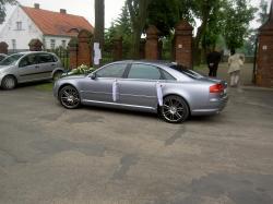 lux-drive.pl auto Audi A8  wynajem aut ślubu Wielkopolska