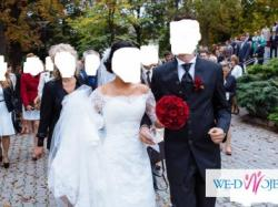Luxusowy,wyjątkowy Garnitur Wilvorst ślub wesele