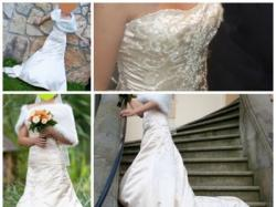 Maggie Sottero, model TRISTAN-  piękna i kobieca suknia ślubna