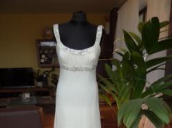 Manuel mota dla PRONOVIAS suknia Swarovski CARLA