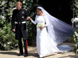 Meghan Markle przebrała się na wesele. Jak wygląda jej druga suknia ślubna?