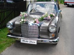 Mercedesy do ślubu.