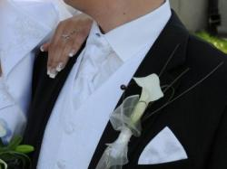 Męska kamizelka ślubna