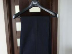Męski garnitur czarny trzy częściowy rozm. 46 S (wzrost 182)