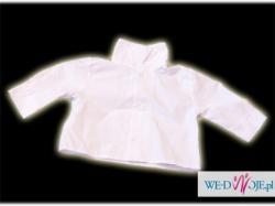 Modne ubranko do chrztu dla chłopaka roz.62