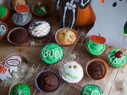 Muffiny na Halloween