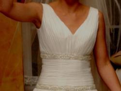 muślinowa suknia model greczynka Emmi Mariage