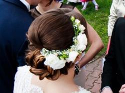 Muślinowa suknia ślubna Afrodyta – Sprzedam!!!