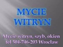 Mycie okien, cennik, tel 504-746-203, Wrocław, mycie okna cena